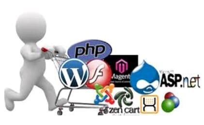 web browsers, service side script languages, JSP, PHP, Python, ASP.NET, Apache, Nginx